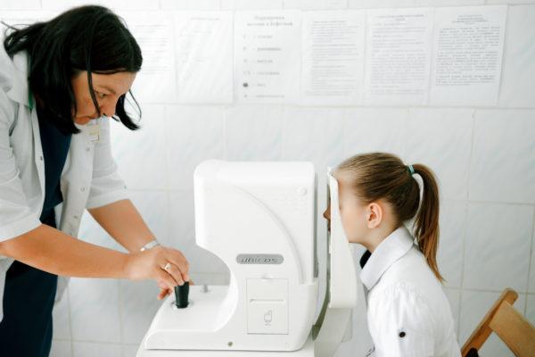 Доброе дело № 2: Диагностика зрения в детском доме