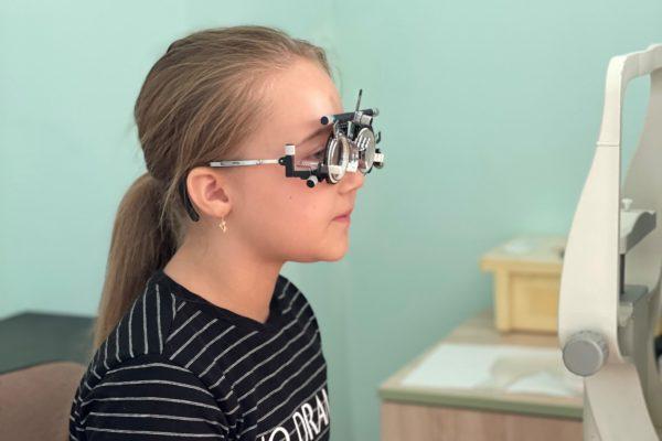 Доброе дело № 5: диагностика зрения детей в ДГКБ